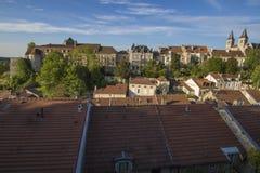 Ciudad de Chaumont, Francia Fotografía de archivo