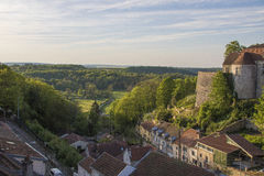 Ciudad de Chaumont, Francia Fotografía de archivo libre de regalías