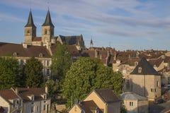 Ciudad de Chaumont, Francia Imagen de archivo libre de regalías