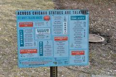Ciudad de Chicago fotos de archivo