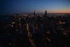 Ciudad de Chicago fotos de archivo libres de regalías