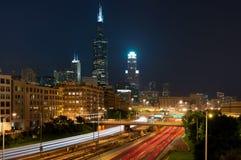 Ciudad de Chicago imagenes de archivo
