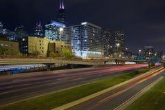 Ciudad de Chicago. imagen de archivo