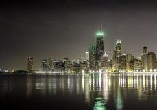 Ciudad de Chicago fotografía de archivo libre de regalías