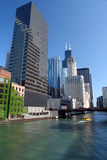 Ciudad de Chicago Foto de archivo