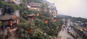 Ciudad de China Chongqing Foto de archivo libre de regalías
