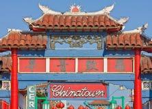Ciudad de China en Los Ángeles Foto de archivo libre de regalías