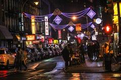 Ciudad de China, Nueva York Foto de archivo libre de regalías