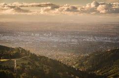Ciudad de Christchurch imagen de archivo libre de regalías