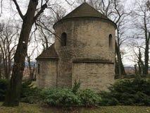 Ciudad de Cieszyn, el románico de la Rotonda imagen de archivo