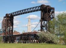 Ciudad de Cleveland Imagen de archivo