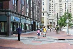 Ciudad de Cleveland fotos de archivo libres de regalías