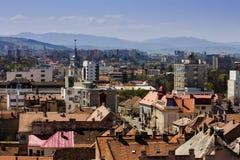 Ciudad de Cluj - de Napoca, visión desde arriba Fotografía de archivo libre de regalías
