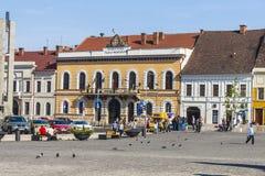 Ciudad de Cluj-Napoca imagenes de archivo