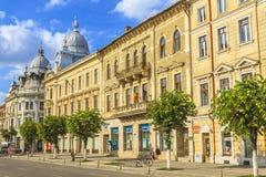 Ciudad de Cluj-Napoca foto de archivo libre de regalías