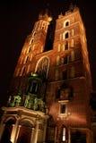 Ciudad de Cracovia Fotografía de archivo