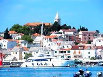 Ciudad de Croacia - ¡diez de PrimoÅ Foto de archivo