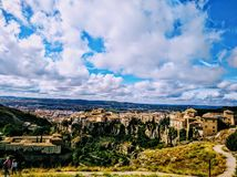 Ciudad de Cuenca fotografía de archivo libre de regalías