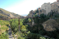 Ciudad de Cuenca, España imagen de archivo libre de regalías
