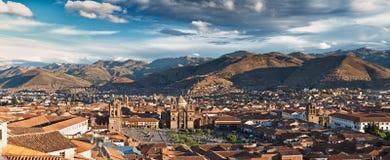 Ciudad de Cuzco imagenes de archivo