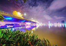 Ciudad de Danang en Vietnam Fotos de archivo
