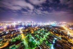 Ciudad de Danang en Vietnam Foto de archivo