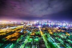 Ciudad de Danang en Vietnam Imagenes de archivo