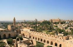 Ciudad de David en la Jerusalén vieja, Israel Fotografía de archivo libre de regalías