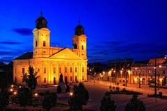 Ciudad de Debrecen, Hungría Foto de archivo
