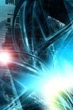 Ciudad de Digitaces ilustración del vector