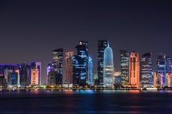 Ciudad de Doha, Qatar Fotos de archivo