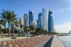 Ciudad de Doha, Qatar Imagen de archivo