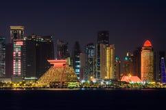 Ciudad de Doha, Qatar Imagenes de archivo