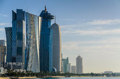 Ciudad de Doha, Qatar Imagen de archivo libre de regalías