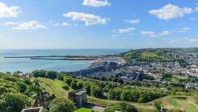 Ciudad de Dover, Reino Unido imagen de archivo libre de regalías