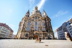 Ciudad de Dresden en Alemania fotos de archivo