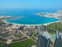 Ciudad de Dubia Fotografía de archivo libre de regalías