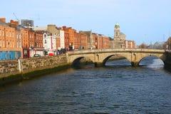 Ciudad de Dublín Imágenes de archivo libres de regalías