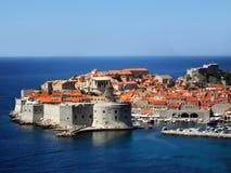 Ciudad de Dubrovnik Foto de archivo