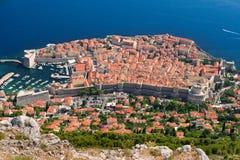 Ciudad de Dubrovnik foto de archivo libre de regalías