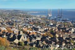 Ciudad de Dundee Imágenes de archivo libres de regalías