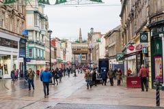 Ciudad de Dundee del centro comercial de Wellgate Imagen de archivo