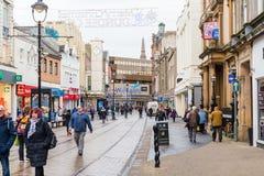 Ciudad de Dundee del centro comercial de Wellgate Fotografía de archivo