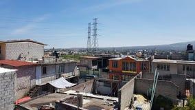 Ciudad de Ecatepec Fotos de archivo