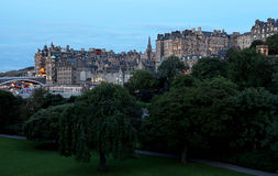Ciudad de Edimburgo Fotografía de archivo libre de regalías