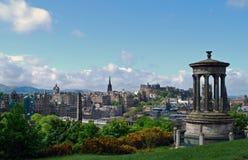 Ciudad de Edimburgo fotografía de archivo
