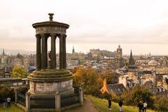 Ciudad de Edimburgo Foto de archivo libre de regalías