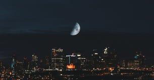 Ciudad de Edmonton Fotografía de archivo libre de regalías