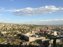Ciudad de Ereván Imagen de archivo libre de regalías