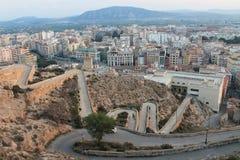 Ciudad de España Orihuela imagen de archivo libre de regalías